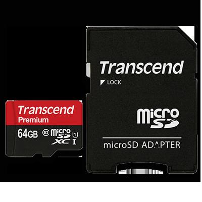 64g transcend sd card