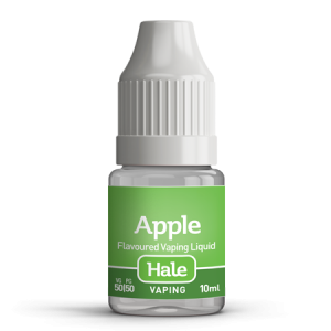 Hale apple e-juice for e-cigarettes