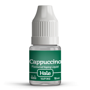 hale cappuccino e-juice for e-cigarettes