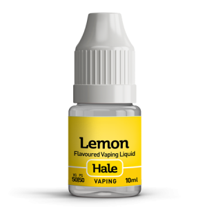 hale lemon e-juice for e-cigarettes