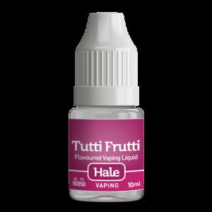 hale tutti frutti e-juice for e-cigarettes